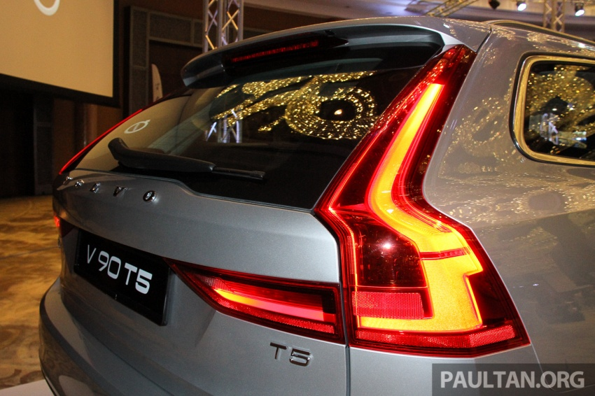 Volvo S90, V90 launched in M'sia: T5 and T6 R-Design, semi-autonomous driving as standard, from RM389k Image #634399