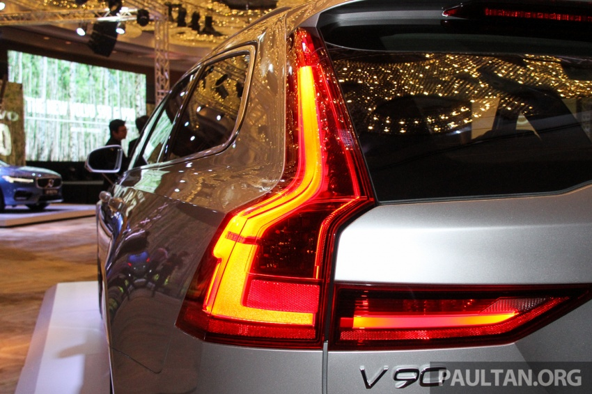 Volvo S90, V90 launched in M'sia: T5 and T6 R-Design, semi-autonomous driving as standard, from RM389k Image #634403