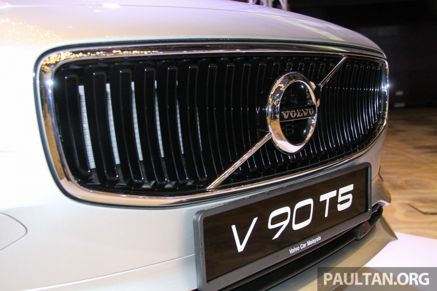 Volvo S90, V90 launched in M'sia: T5 and T6 R-Design, semi-autonomous driving as standard, from RM389k Image #634406