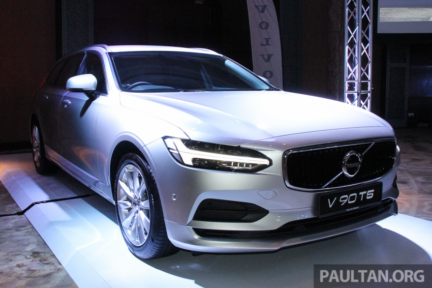 Volvo S90, V90 launched in M'sia: T5 and T6 R-Design, semi-autonomous driving as standard, from RM389k Image #634387