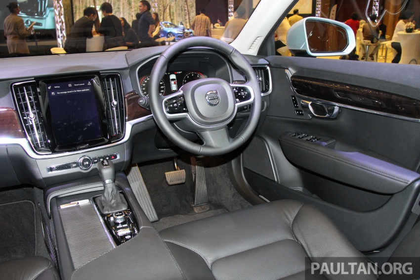 Volvo S90, V90 launched in M'sia: T5 and T6 R-Design, semi-autonomous driving as standard, from RM389k Image #634410