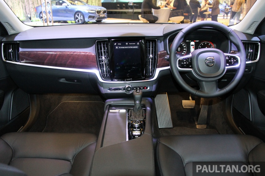 Volvo S90, V90 launched in M'sia: T5 and T6 R-Design, semi-autonomous driving as standard, from RM389k Image #634411