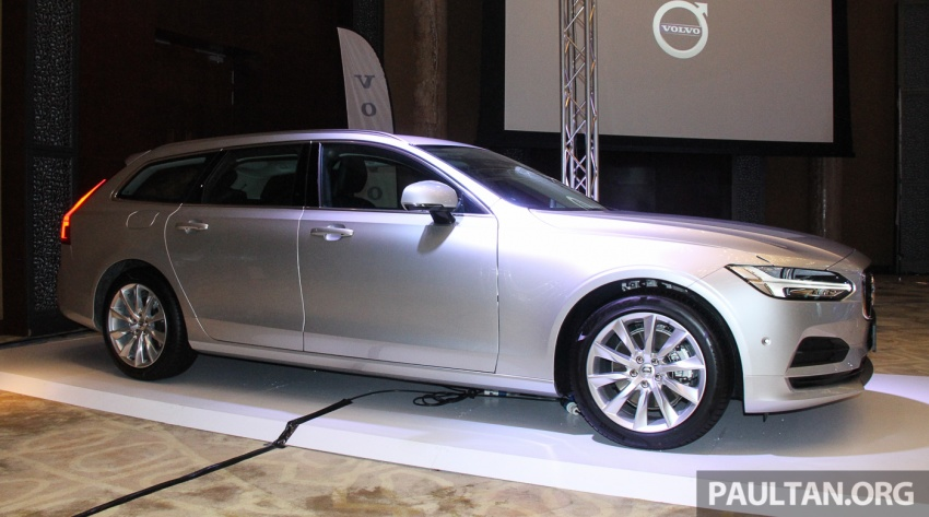 Volvo S90, V90 launched in M'sia: T5 and T6 R-Design, semi-autonomous driving as standard, from RM389k Image #634389