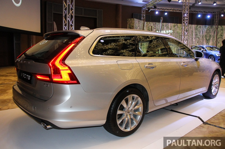 Volvo S90, V90 launched in M'sia: T5 and T6 R-Design, semi-autonomous driving as standard, from RM389k Image #634393