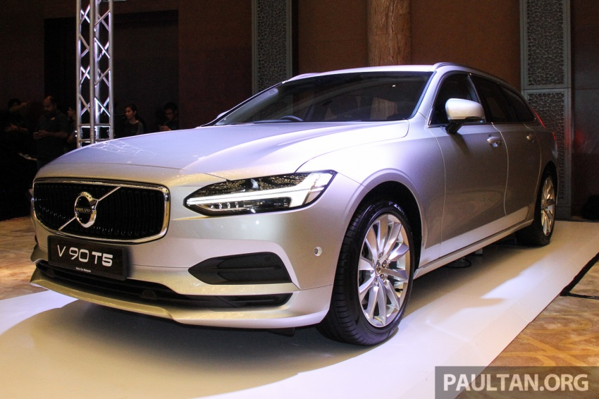 Volvo S90, V90 launched in M'sia: T5 and T6 R-Design, semi-autonomous driving as standard, from RM389k Image #634396