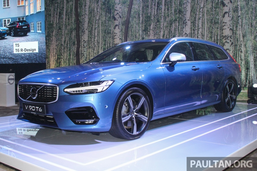 Volvo S90, V90 launched in M'sia: T5 and T6 R-Design, semi-autonomous driving as standard, from RM389k Image #634143