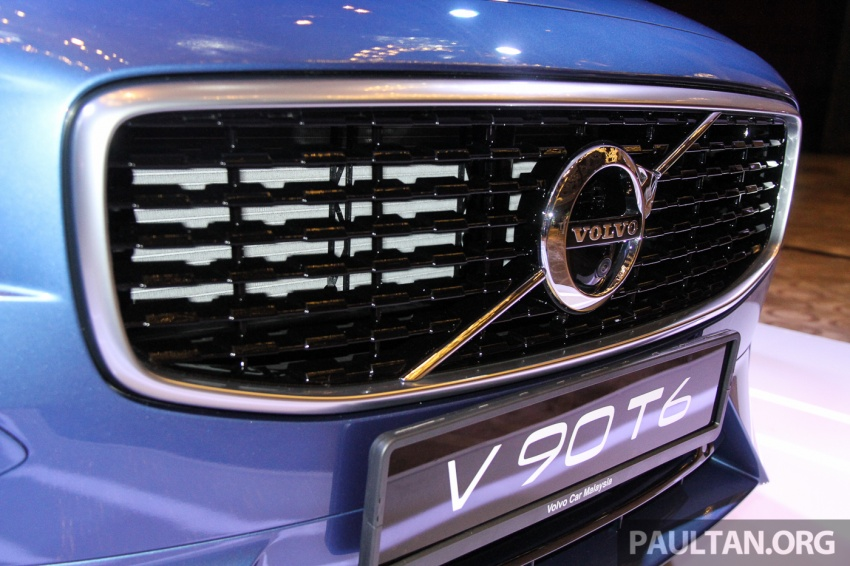 Volvo S90, V90 launched in M'sia: T5 and T6 R-Design, semi-autonomous driving as standard, from RM389k Image #634152