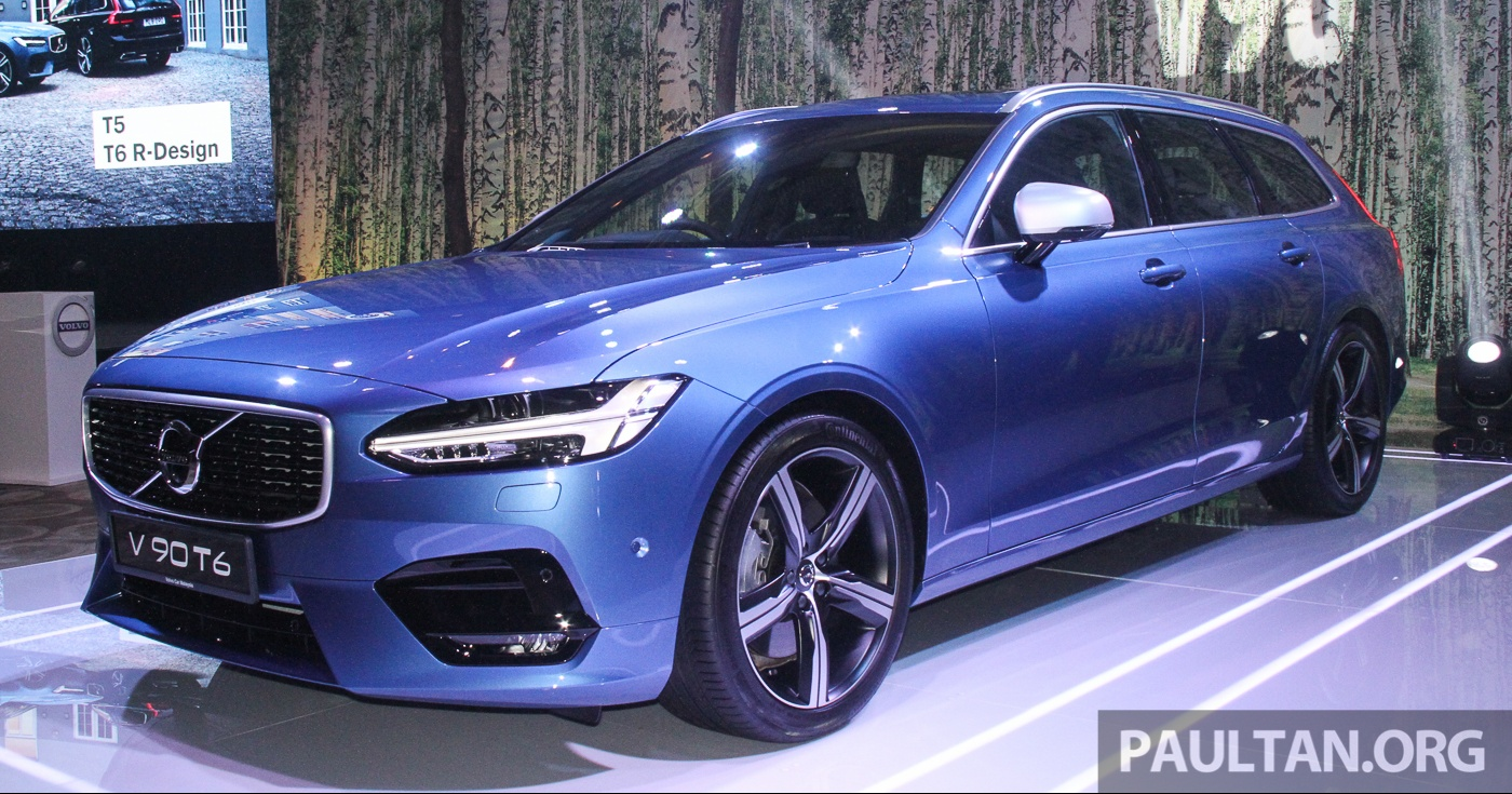 volvo s90 v90 launched in m sia t5 and t6 r design semi autonomous driving as standard from. Black Bedroom Furniture Sets. Home Design Ideas