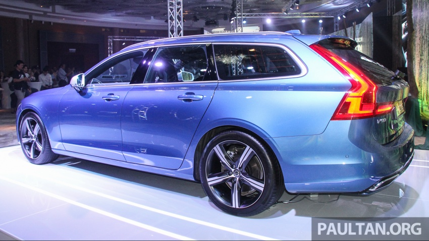 Volvo S90, V90 launched in M'sia: T5 and T6 R-Design, semi-autonomous driving as standard, from RM389k Image #634145