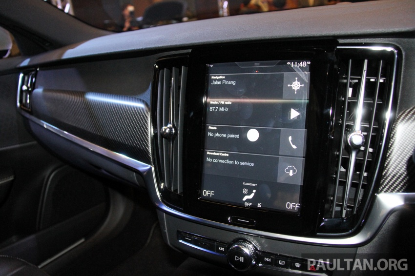 Volvo S90, V90 launched in M'sia: T5 and T6 R-Design, semi-autonomous driving as standard, from RM389k Image #634177