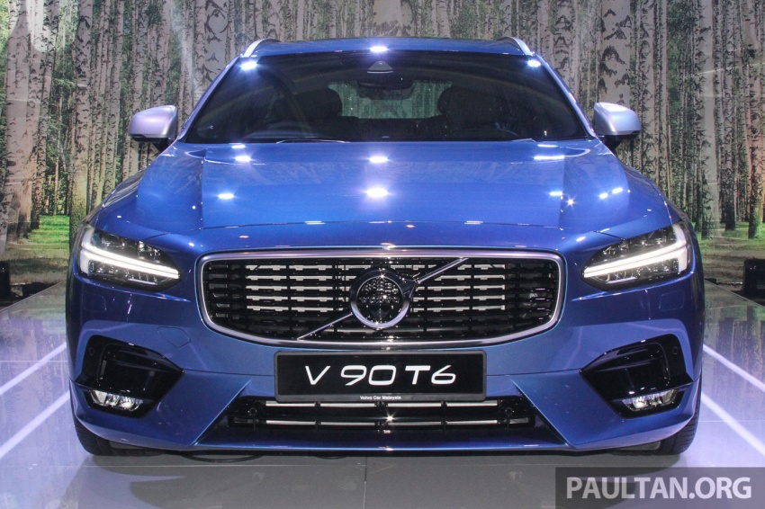 Volvo S90, V90 launched in M'sia: T5 and T6 R-Design, semi-autonomous driving as standard, from RM389k Image #634146