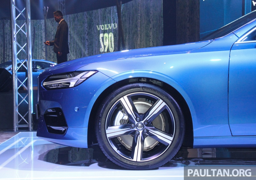 Volvo S90, V90 launched in M'sia: T5 and T6 R-Design, semi-autonomous driving as standard, from RM389k Image #634148