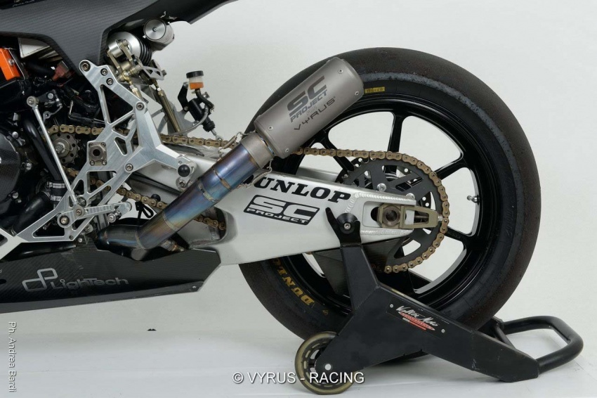 Vyrus 986 M2 now ready for order – swingarm front suspension, CBR600R power, only 50 to be built Image #631832