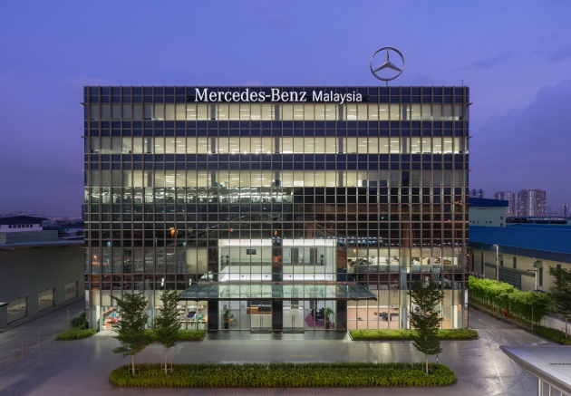 Delightful Mercedes Benz Malaysia (MBM) Officially Launched Its New Headquarters,  Which Also Houses Its New Training Academy In Bandar Kinrara, Puchong Today.