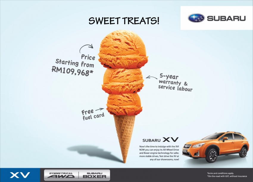AD: Subaru XV and Forester deals – from RM109,968! Image #623552