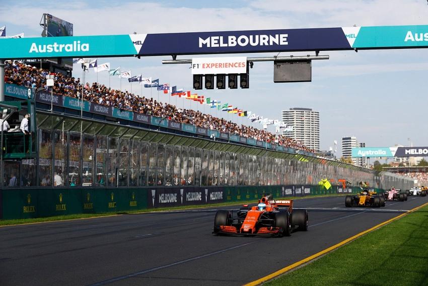 2017 Australian GP – Vettel clinches victory for Ferrari Image #634780