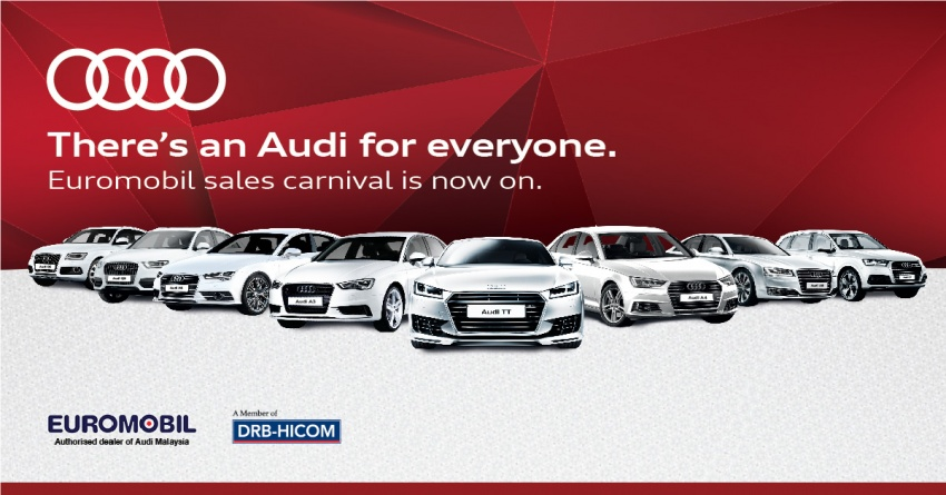 AD: Great deals on Audi Approved :plus at Euromobil this weekend – own an Audi from just RM105,000! Image #622479