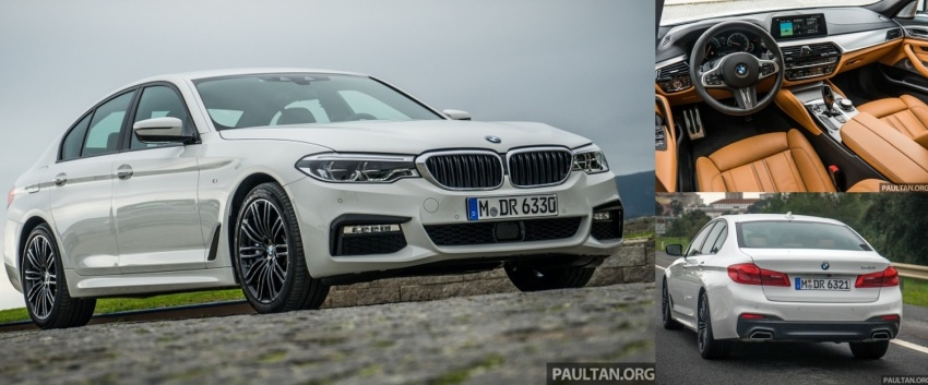 DRIVEN: G30 BMW 5 Series – raising the stakes again Image #634977