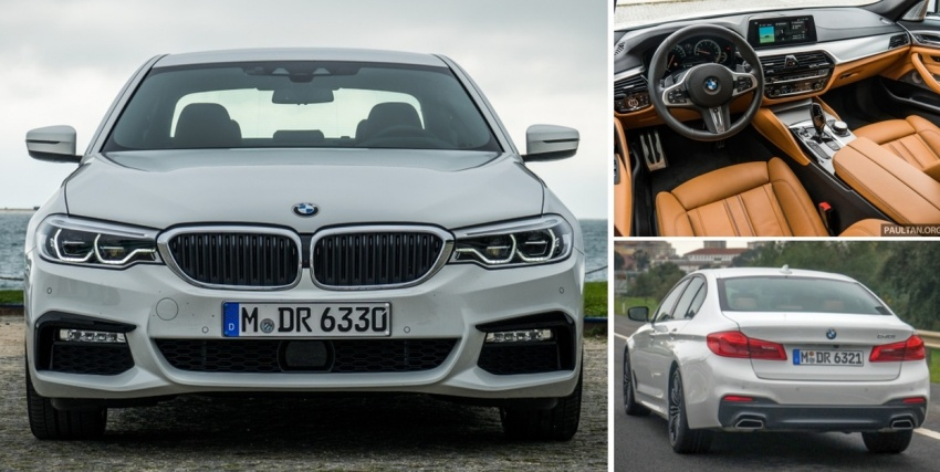 DRIVEN: G30 BMW 5 Series – raising the stakes again Image #635007