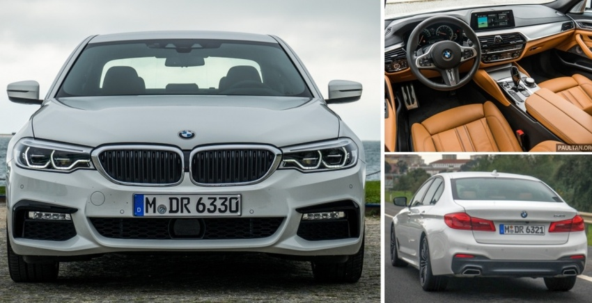 DRIVEN: G30 BMW 5 Series – raising the stakes again Image #635006