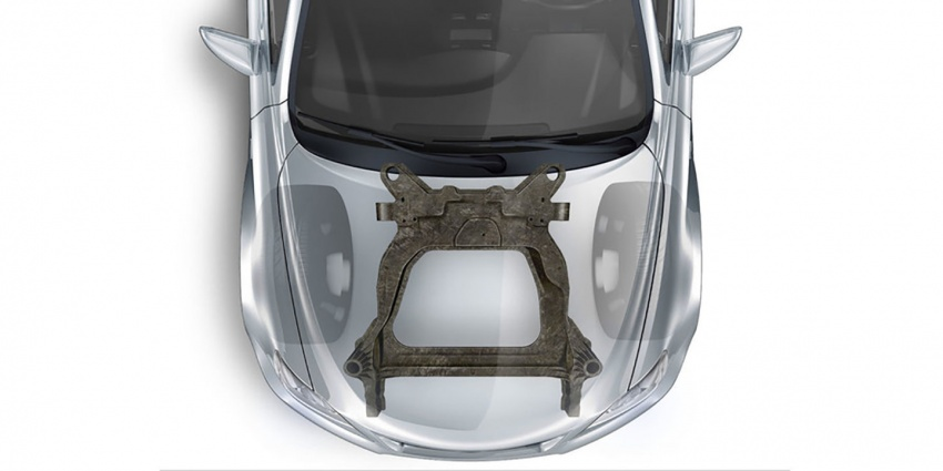 Ford and Magna co-developing carbon-fibre subframes – 34% lighter and 87% fewer parts compared to steel Image #631434