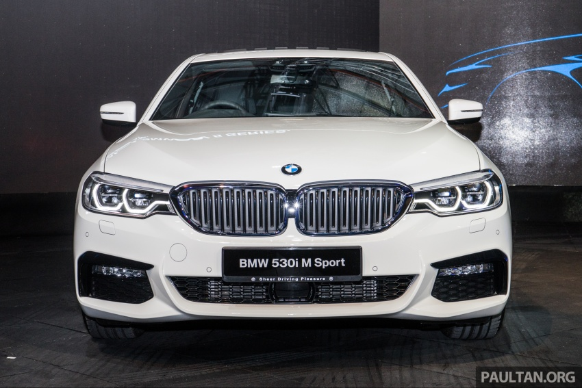g30 bmw 5 series launched in malaysia 530i rm399k image. Black Bedroom Furniture Sets. Home Design Ideas
