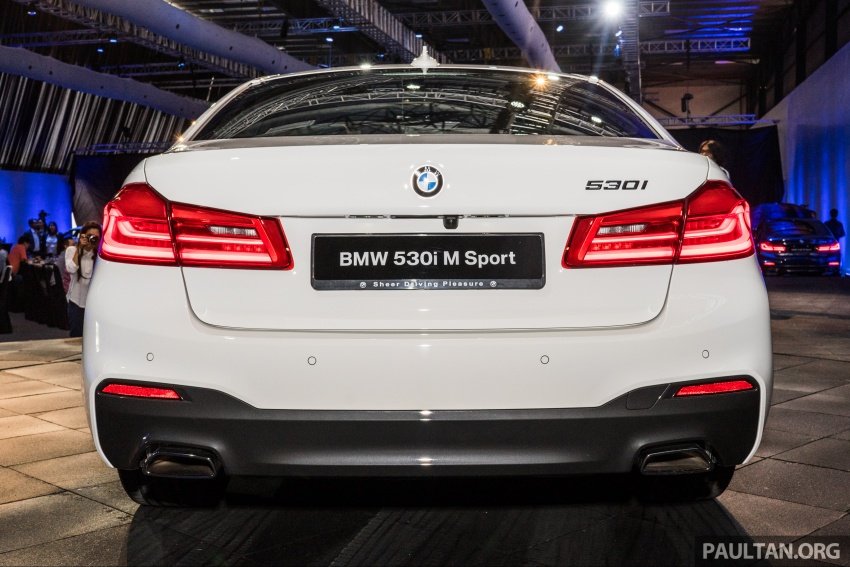 G30 BMW 5 Series launched in Malaysia: 530i, RM399k Image #636650