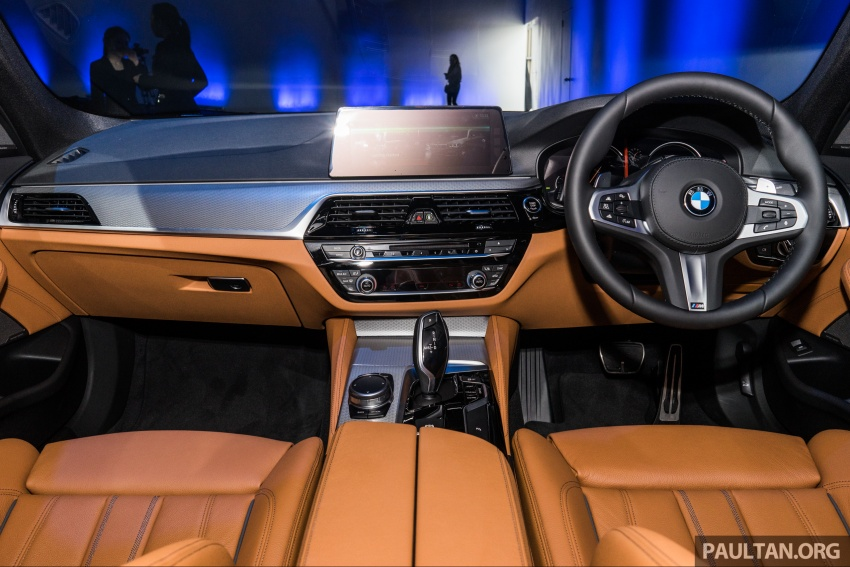 G30 BMW 5 Series launched in Malaysia: 530i, RM399k Image #636655