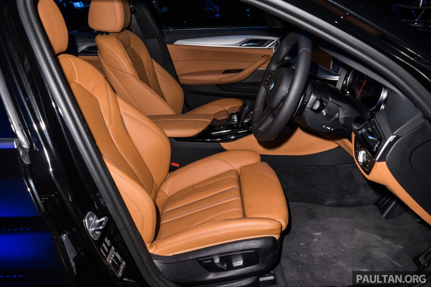G30 BMW 5 Series launched in Malaysia: 530i, RM399k Image #636657