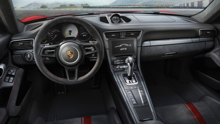Porsche 911 GT3 now with 500 hp, manual gearbox Image #625821