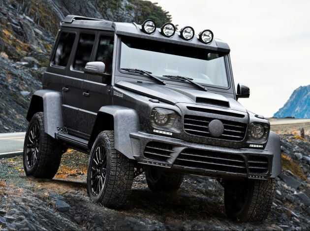 Mansory debuts wild body kits for the G 500 4×4², Levante