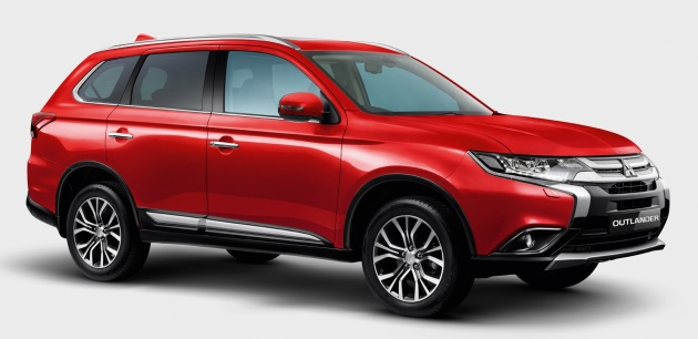 Mitsubishi Motors Malaysia Introduces Enhanced Outlander Suv Gets Minor Update For 2017 Rm171k