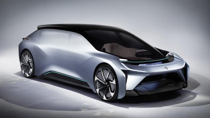 NextEV Nio Eve concept – ground-up driverless design Image #636016