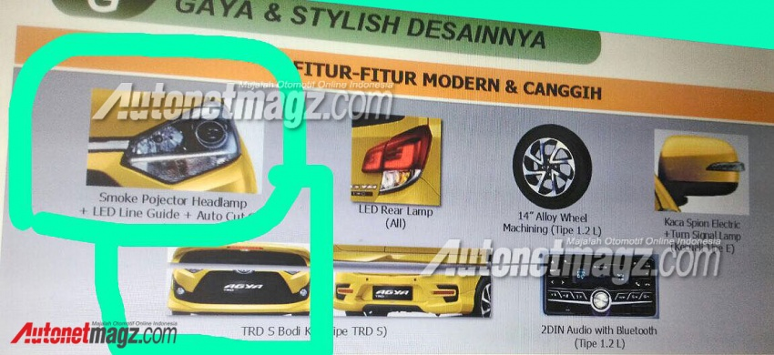 2017 Toyota Agya facelift – leaked brochure reveals new kit and 1.2L mill, debut likely at IIMS next month Image #632265