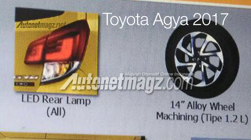 2017 Toyota Agya facelift – leaked brochure reveals new kit and 1.2L mill, debut likely at IIMS next month Image #632262