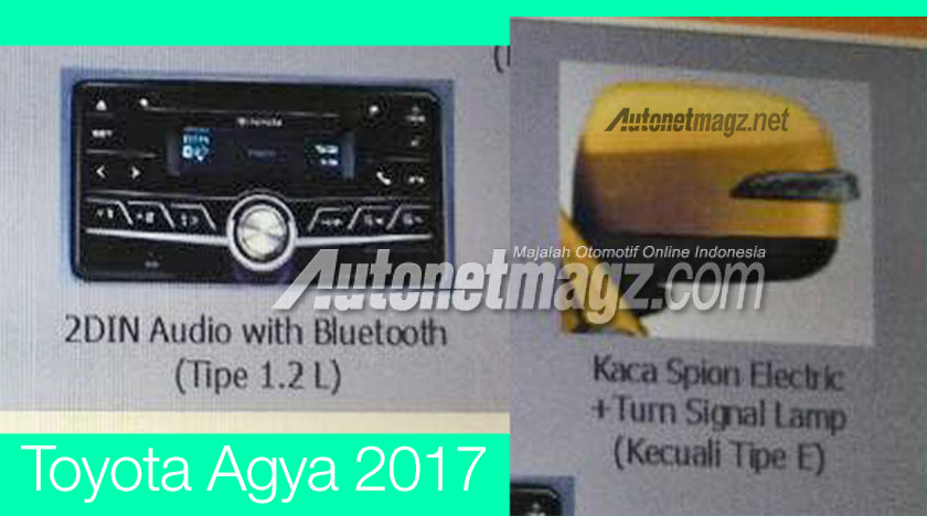 2017 Toyota Agya facelift – leaked brochure reveals new kit and 1.2L mill, debut likely at IIMS next month Image #632264