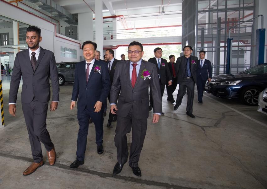 Honda Malaysia buka pusat 4S terbesar di Malaysia  – jualan meningkat 45% bagi suku pertama 2017 Image #649746