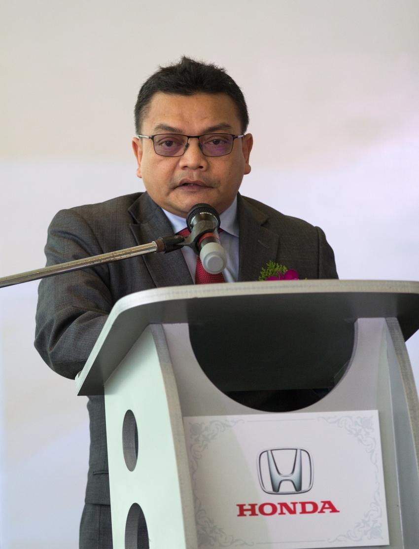 Honda Malaysia buka pusat 4S terbesar di Malaysia  – jualan meningkat 45% bagi suku pertama 2017 Image #649747