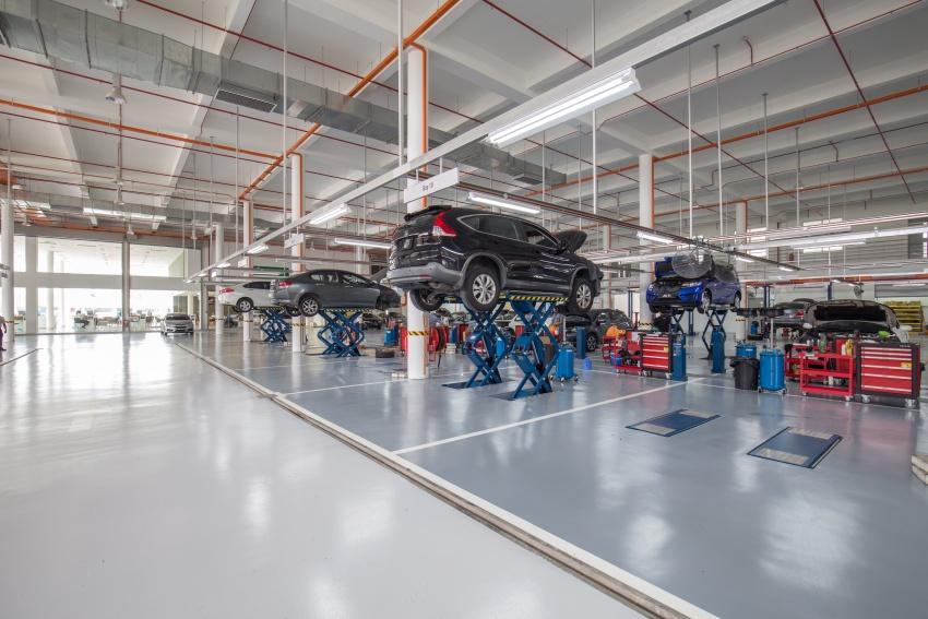 Honda Malaysia buka pusat 4S terbesar di Malaysia  – jualan meningkat 45% bagi suku pertama 2017 Image #649742