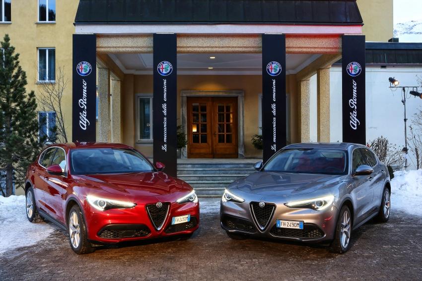 Alfa Romeo Stelvio gains new base engines for EMEA: 200 hp/330 Nm 2.0 petrol and 180 hp/490 Nm 2.2 diesel Image #639534
