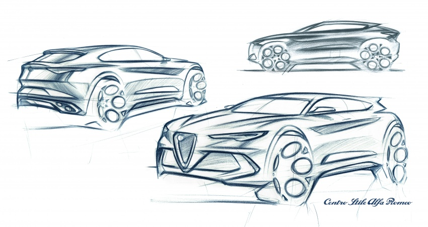 Alfa Romeo Stelvio gains new base engines for EMEA: 200 hp/330 Nm 2.0 petrol and 180 hp/490 Nm 2.2 diesel Image #639801