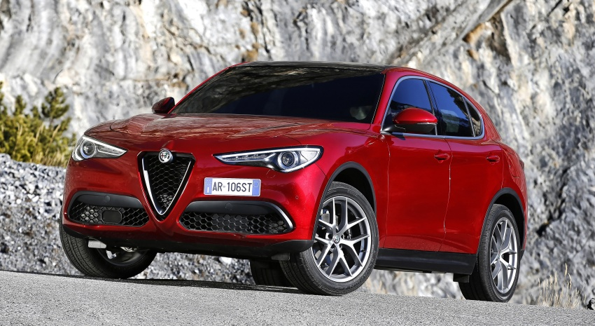 Alfa Romeo Stelvio gains new base engines for EMEA: 200 hp/330 Nm 2.0 petrol and 180 hp/490 Nm 2.2 diesel Image #639643