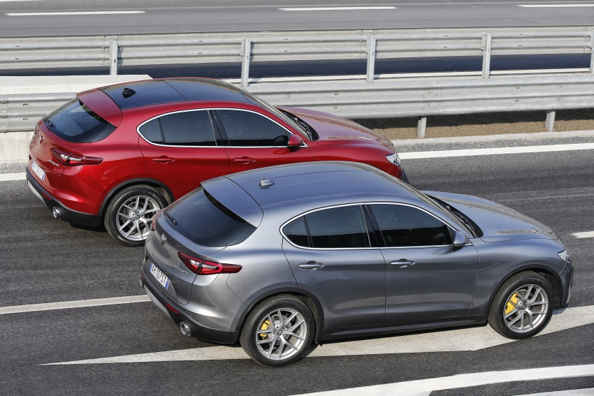 Alfa Romeo Stelvio gains new base engines for EMEA: 200 hp/330 Nm 2.0 petrol and 180 hp/490 Nm 2.2 diesel Image #639708