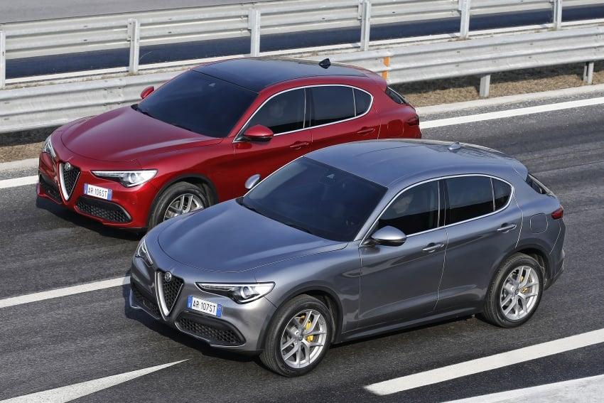 Alfa Romeo Stelvio gains new base engines for EMEA: 200 hp/330 Nm 2.0 petrol and 180 hp/490 Nm 2.2 diesel Image #639709