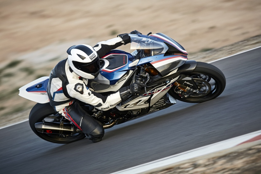2017 BMW Motorrad HP4 Race racing motorcycle released – limited edition of only 750, worldwide Image #647867