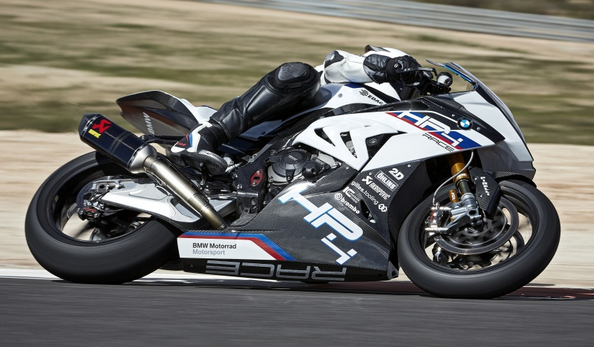 2017 BMW Motorrad HP4 Race racing motorcycle released – limited edition of only 750, worldwide Image #647876