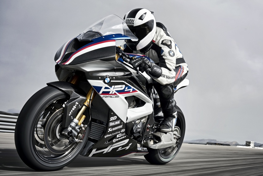2017 BMW Motorrad HP4 Race racing motorcycle released – limited edition of only 750, worldwide Image #647889