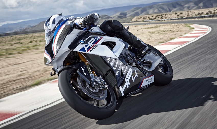 2017 BMW Motorrad HP4 Race racing motorcycle released – limited edition of only 750, worldwide Image #647895