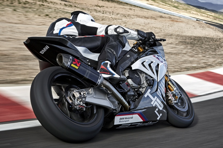 2017 BMW Motorrad HP4 Race racing motorcycle released – limited edition of only 750, worldwide Image #647897