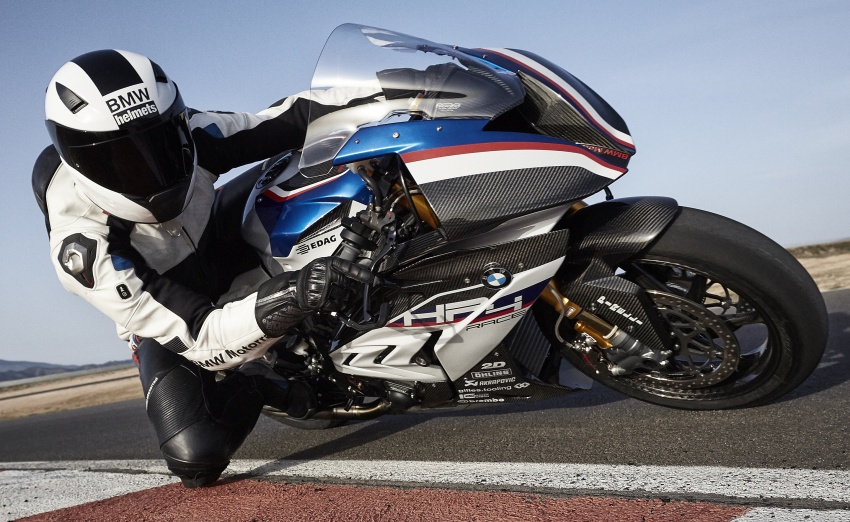2017 BMW Motorrad HP4 Race racing motorcycle released – limited edition of only 750, worldwide Image #647898